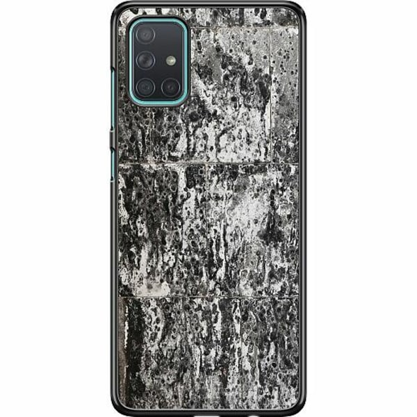 Samsung Galaxy A71 Hard Case (Svart) Berlin Walls