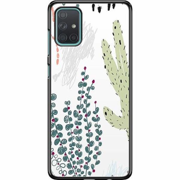 Samsung Galaxy A71 Hard Case (Svart) Cactus Or Cacti