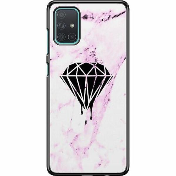 Samsung Galaxy A71 Hard Case (Svart) Diamant