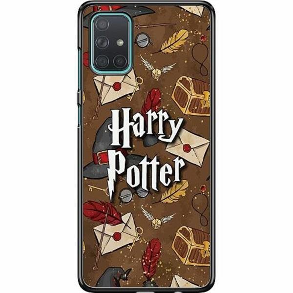 Samsung Galaxy A71 Hard Case (Svart) Harry Potter