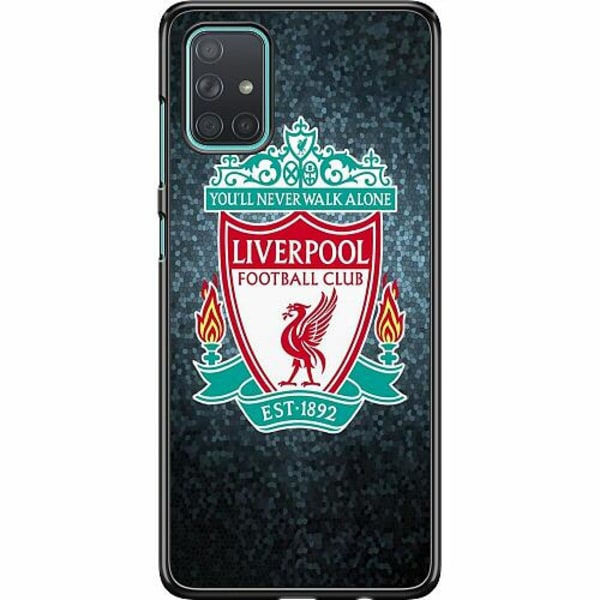 Samsung Galaxy A71 Hard Case (Svart) Liverpool