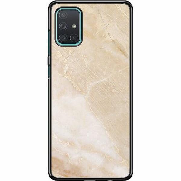 Samsung Galaxy A71 Hard Case (Svart) More Marble