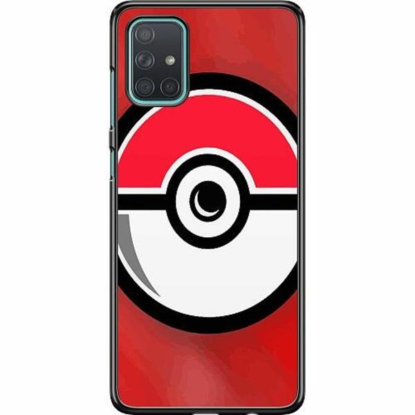 Samsung Galaxy A71 Hard Case (Svart) Pokemon