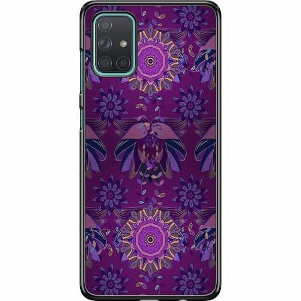 Samsung Galaxy A71 Hard Case (Svart) Vivid Divition