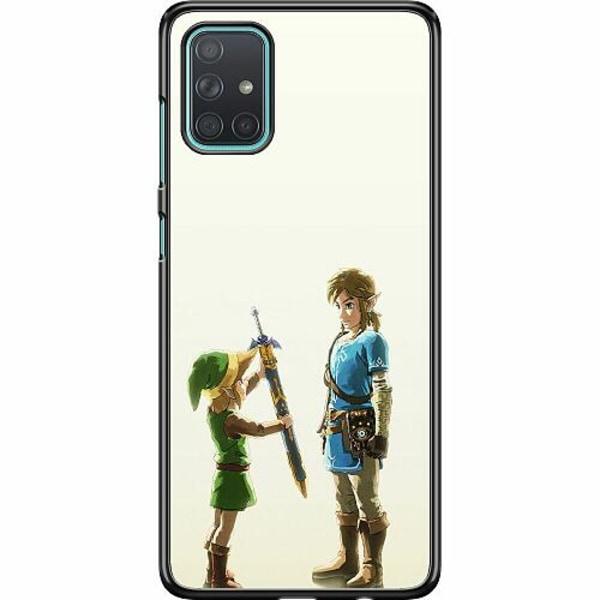 Samsung Galaxy A71 Hard Case (Svart) Zelda