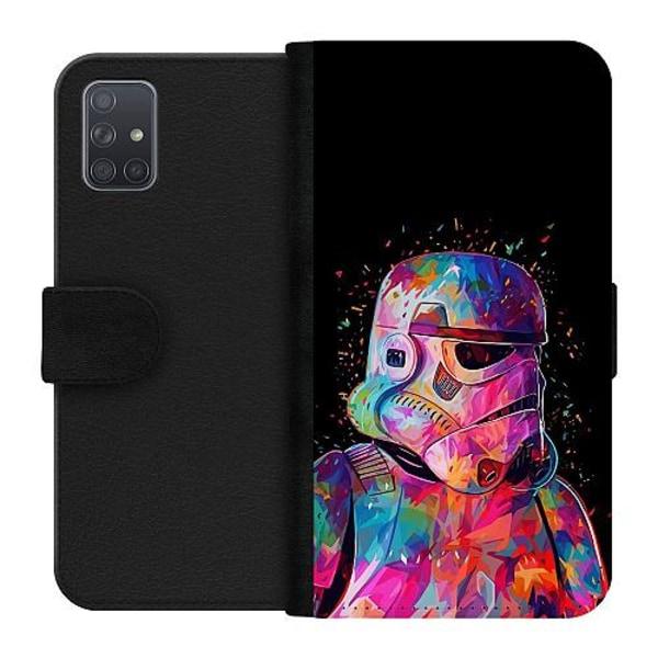Samsung Galaxy A71 Plånboksfodral Star Wars Stormtrooper