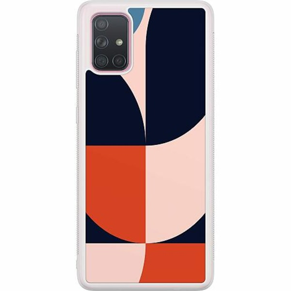 Samsung Galaxy A71 Soft Case (Frostad) Famous Artistry-ish