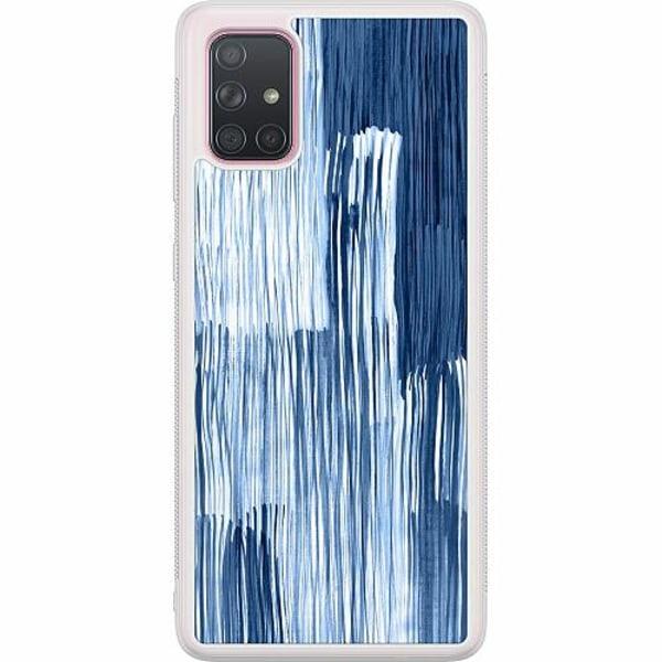 Samsung Galaxy A71 Soft Case (Frostad) Rain On Windowsill