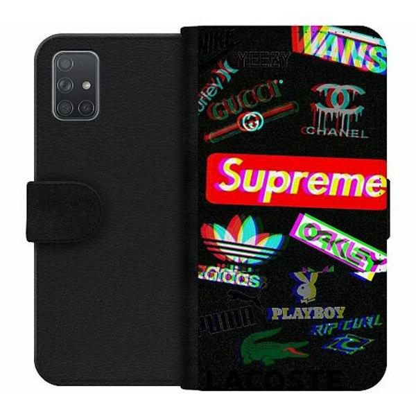 Samsung Galaxy A71 Wallet Case 3D