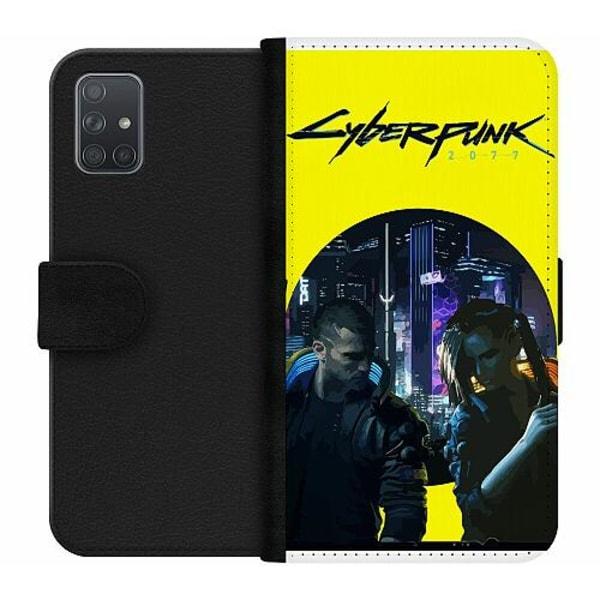 Samsung Galaxy A71 Wallet Case Cyberpunk 2077