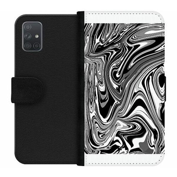 Samsung Galaxy A71 Wallet Case Pattern