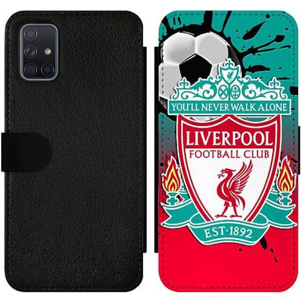 Samsung Galaxy A71 Wallet Slim Case Liverpool