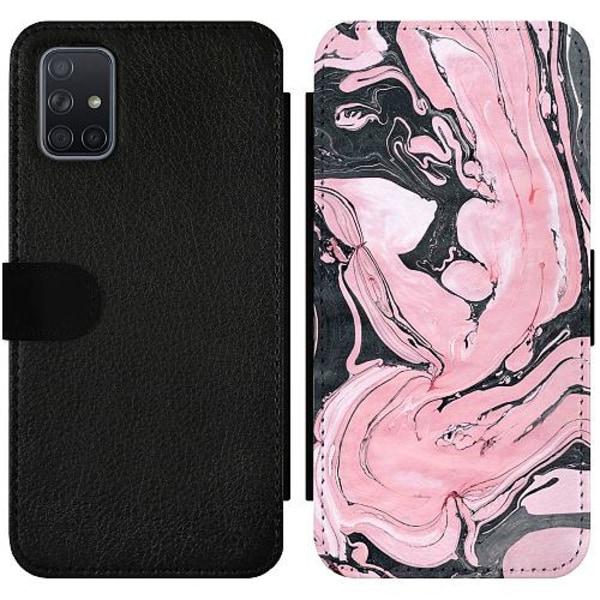 Samsung Galaxy A71 Wallet Slimcase Mönster