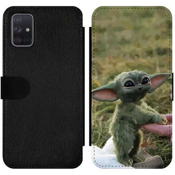 Samsung Galaxy A71 Wallet Slimcase Yoda