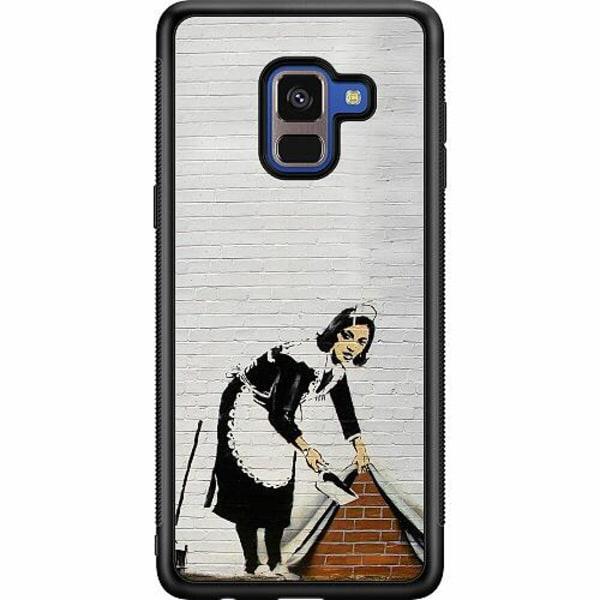 Samsung Galaxy A8 (2018) Soft Case (Svart) AR>T