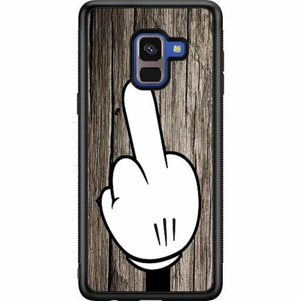 Samsung Galaxy A8 (2018) Soft Case (Svart) F-YOU!