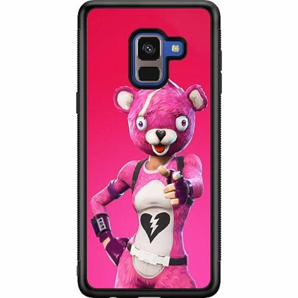 Samsung Galaxy A8 (2018) Soft Case (Svart) Fortnite
