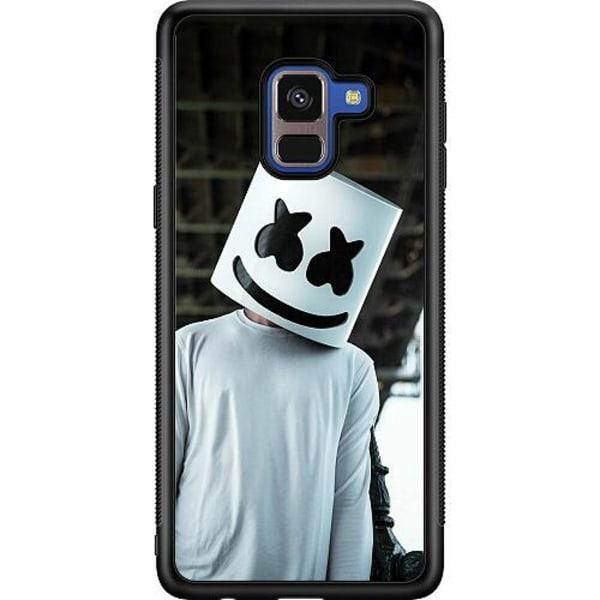 Samsung Galaxy A8 (2018) Soft Case (Svart) Fortnite Marshmello