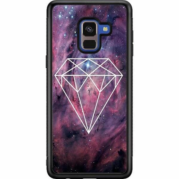 Samsung Galaxy A8 (2018) Soft Case (Svart) Galaxy Diamant