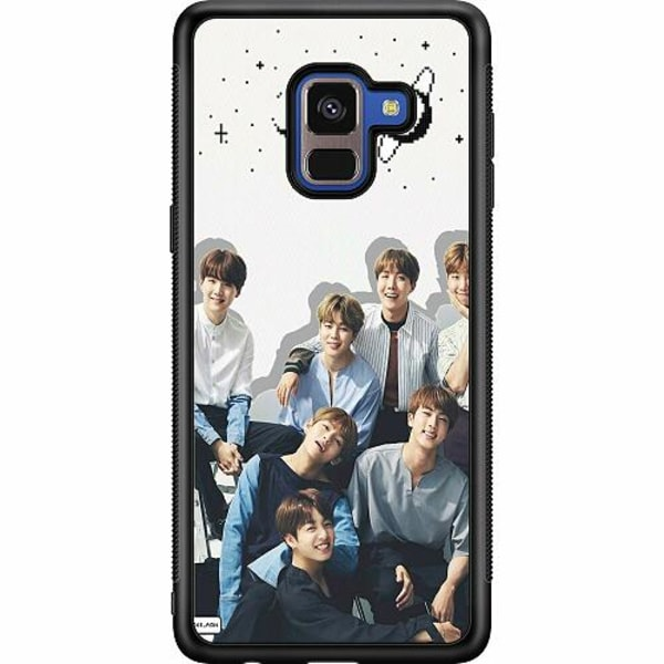 Samsung Galaxy A8 (2018) Soft Case (Svart) K-POP BTS