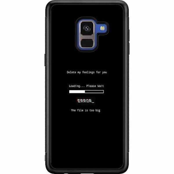 Samsung Galaxy A8 (2018) Soft Case (Svart) Loading