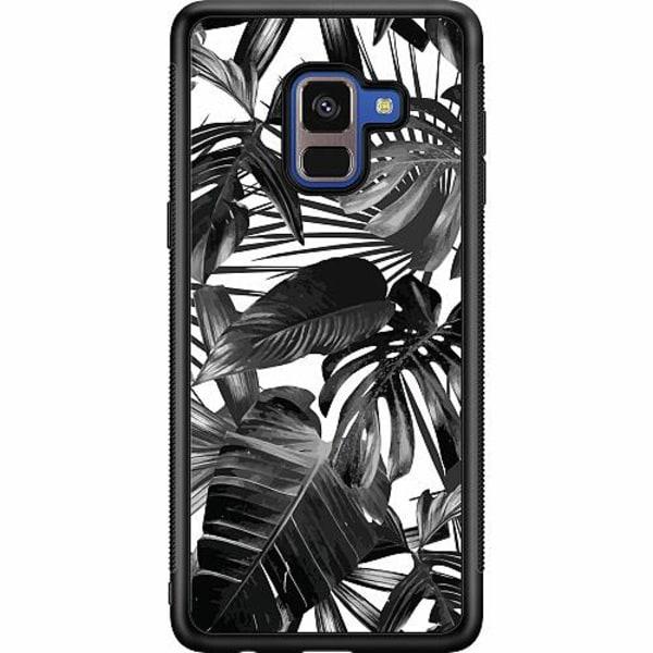 Samsung Galaxy A8 (2018) Soft Case (Svart) Löv