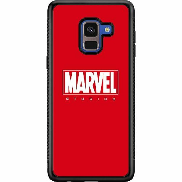 Samsung Galaxy A8 (2018) Soft Case (Svart) Marvel Studios