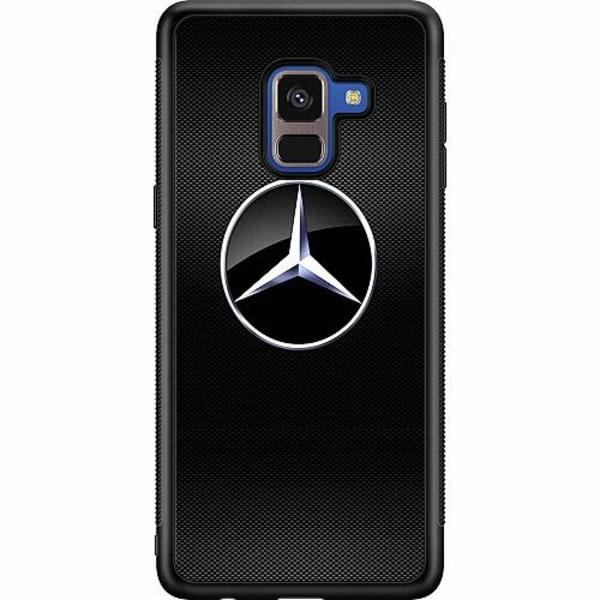 Samsung Galaxy A8 (2018) Soft Case (Svart) Mercedes