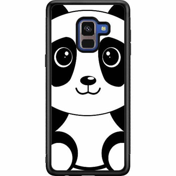 Samsung Galaxy A8 (2018) Soft Case (Svart) Panda