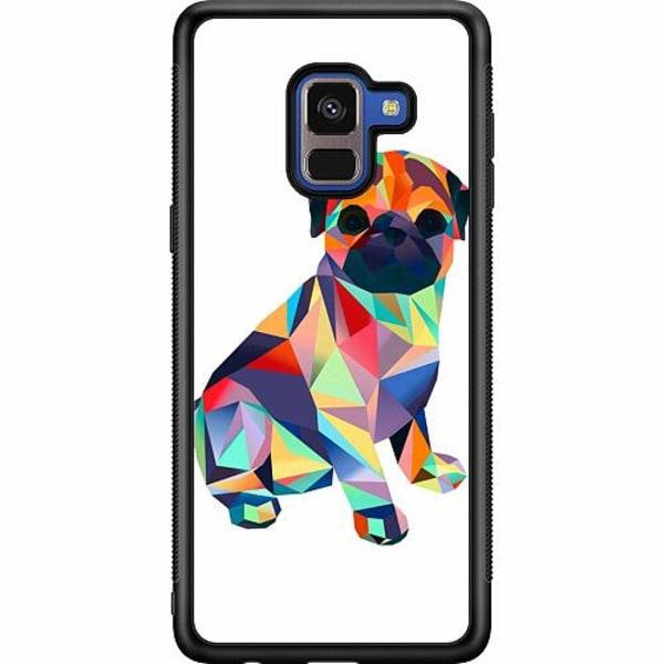 Samsung Galaxy A8 (2018) Soft Case (Svart) Pug