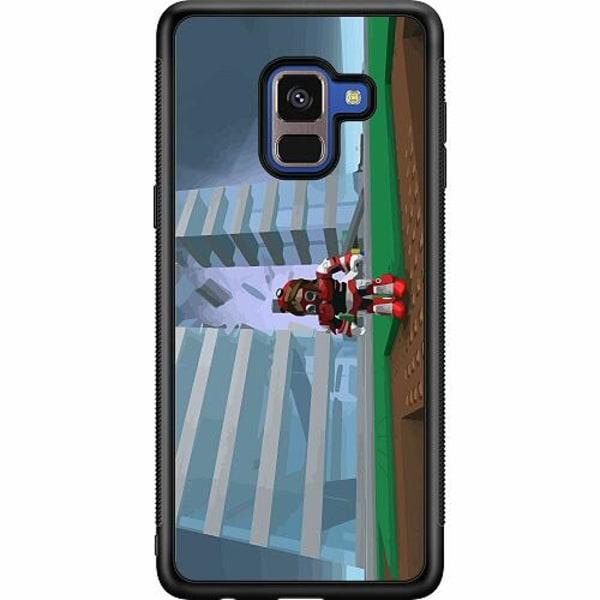 Samsung Galaxy A8 (2018) Soft Case (Svart) Roblox