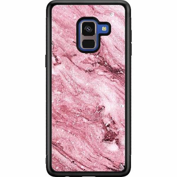 Samsung Galaxy A8 (2018) Soft Case (Svart) Rosa