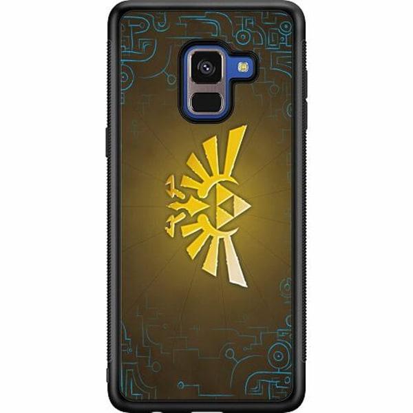 Samsung Galaxy A8 (2018) Soft Case (Svart) The Legend Of Zelda