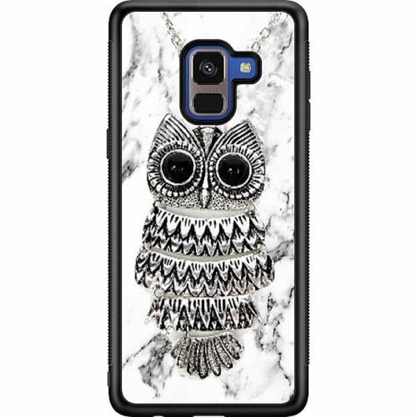 Samsung Galaxy A8 (2018) Soft Case (Svart) Uggla