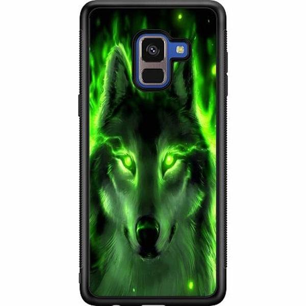 Samsung Galaxy A8 (2018) Soft Case (Svart) Varg