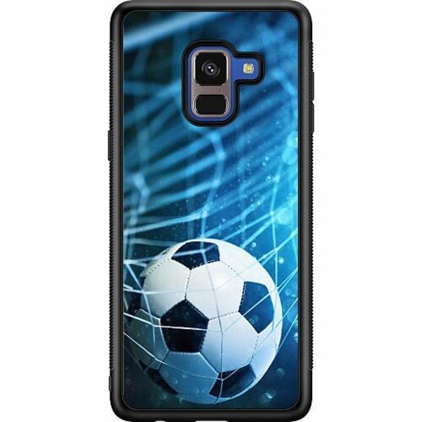 Samsung Galaxy A8 (2018) Soft Case (Svart) VM Fotboll 2018