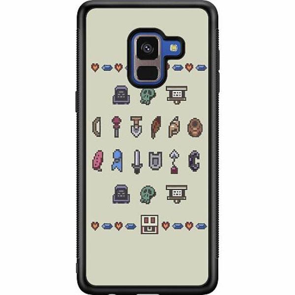 Samsung Galaxy A8 (2018) Soft Case (Svart) Zelda