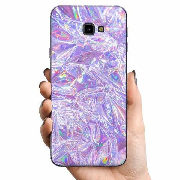 Samsung Galaxy J4 Plus (2018) TPU Mobilskal Holographic Diamonds