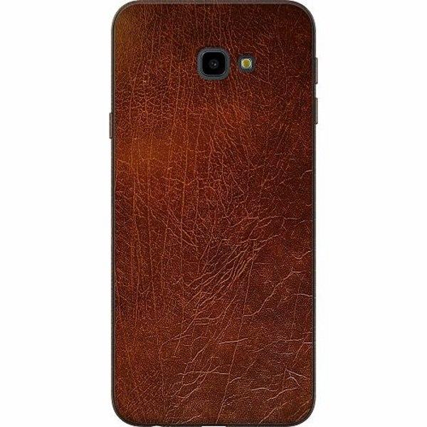 Samsung Galaxy J4 Plus (2018) TPU Mobilskal Leather