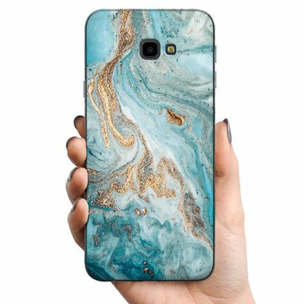 Samsung Galaxy J4 Plus (2018) TPU Mobilskal Magic Marble