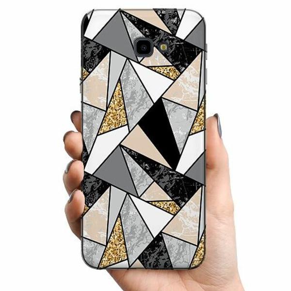 Samsung Galaxy J4 Plus (2018) TPU Mobilskal Marble Print