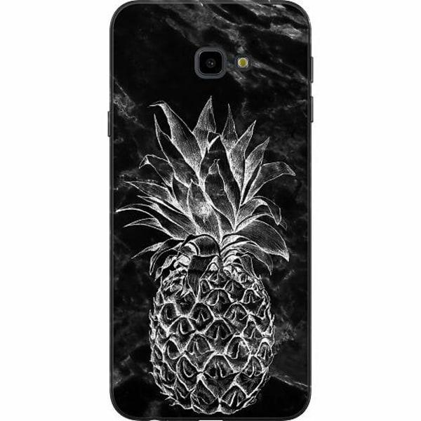Samsung Galaxy J4 Plus (2018) TPU Mobilskal Marmor Ananas