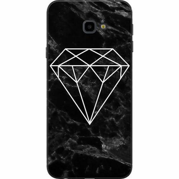 Samsung Galaxy J4 Plus (2018) TPU Mobilskal Marmor Diamant