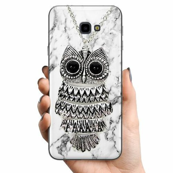 Samsung Galaxy J4 Plus (2018) TPU Mobilskal Marmor Uggla