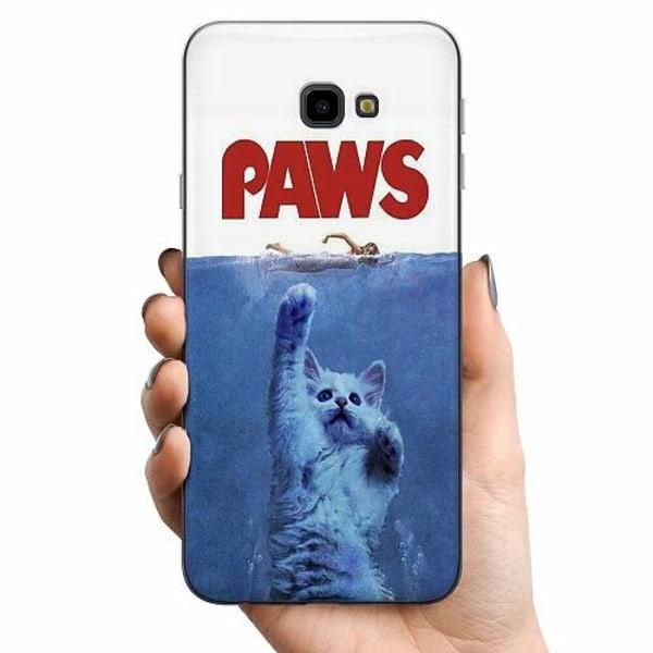 Samsung Galaxy J4 Plus (2018) TPU Mobilskal Paws