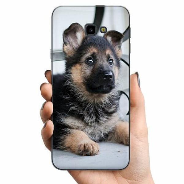 Samsung Galaxy J4 Plus (2018) TPU Mobilskal Schäfer Puppy