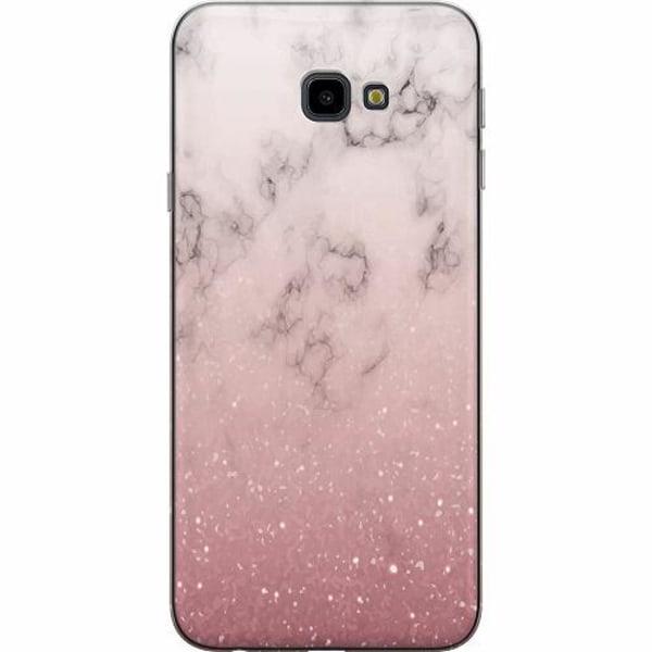 Samsung Galaxy J4 Plus (2018) TPU Mobilskal Soft Pink Marble