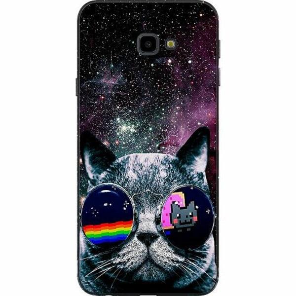 Samsung Galaxy J4 Plus (2018) TPU Mobilskal Space Cat