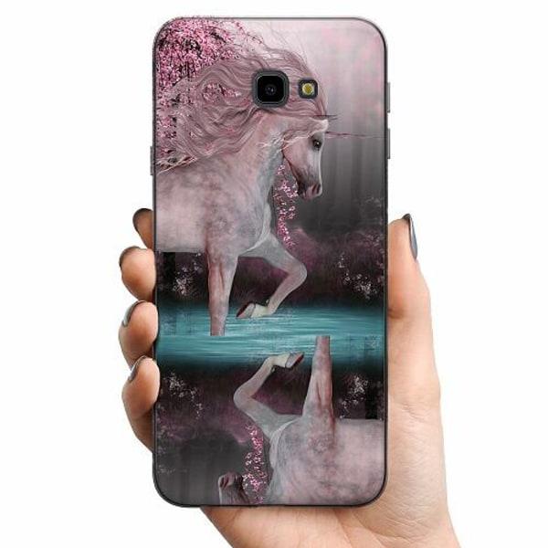 Samsung Galaxy J4 Plus (2018) TPU Mobilskal Unicorn Pond