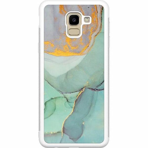 Samsung Galaxy J6 (2018) Soft Case (Vit) Coastline